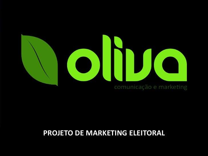 PROJETO DE MARKETING ELEITORAL