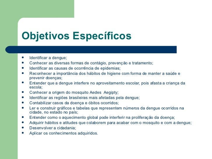 Suficiente Projeto Pedagógico - Tema: Dengue TI89