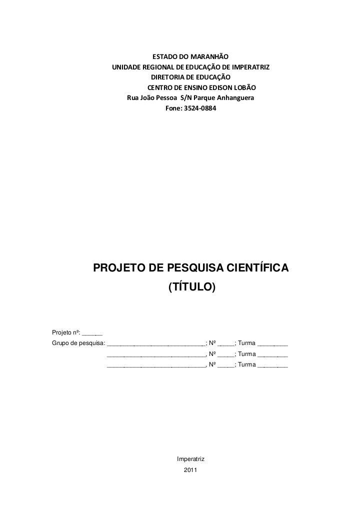 ESTADO DO MARANHÃO<br />UNIDADE REGIONAL DE EDUCAÇÃO DE IMPERATRIZ<br />DIRETORIA DE EDUCAÇÃO<br />CENTRO DE ENSINO EDISON...