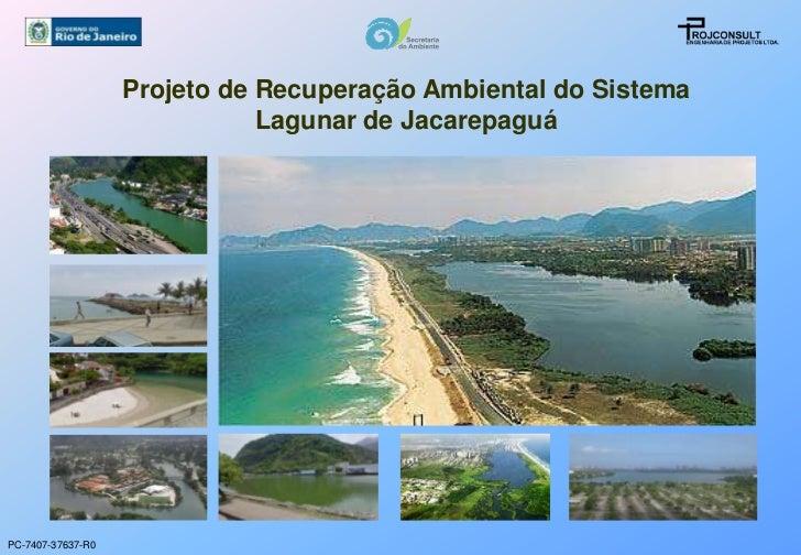 Projeto de Recuperação Ambiental do Sistema                              Lagunar de JacarepaguáPC-7407-37637-R0