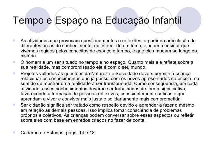 Projeto Interdisciplinar Educação Infantil