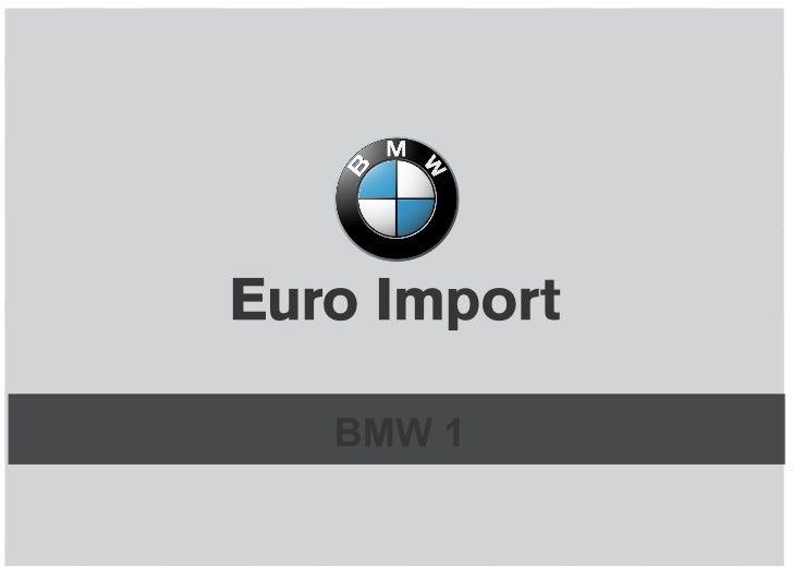 Lançamento Nova BMW Serie 1