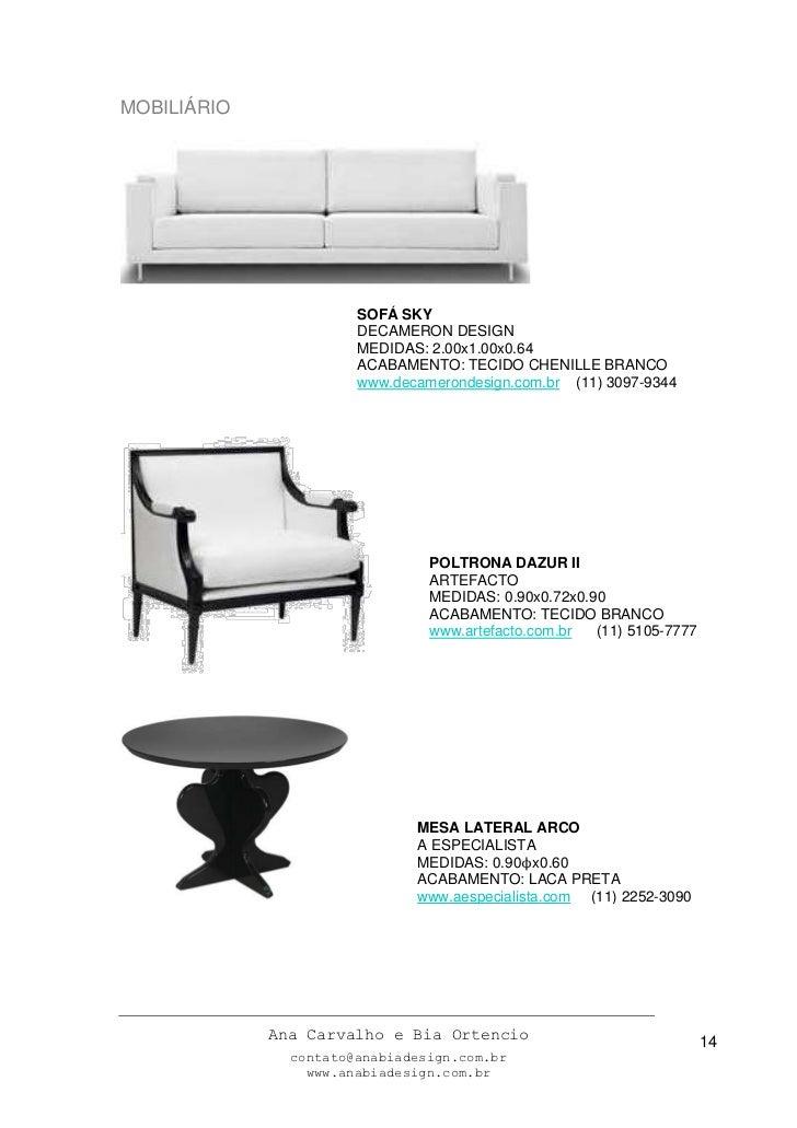 Modelo Memorial Descritivo Projeto De Design De Interiores
