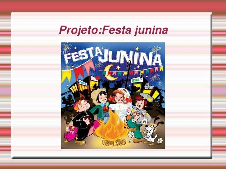 Projeto:Festa junina