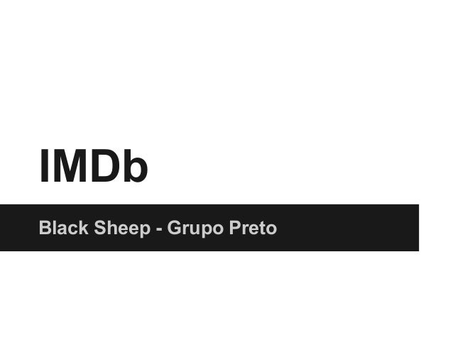 IMDbBlack Sheep - Grupo Preto