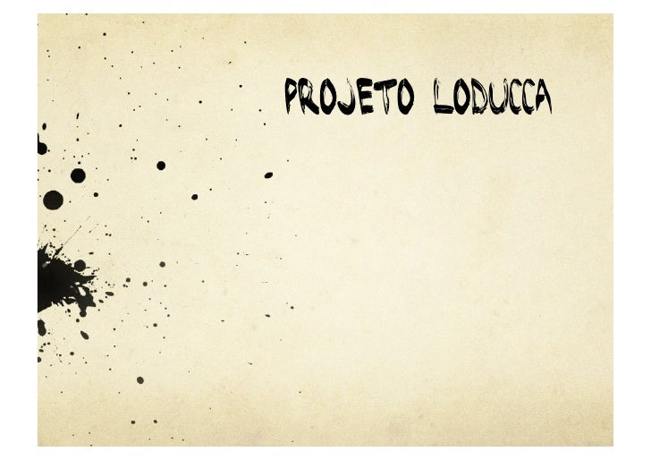 Projeto Loducca
