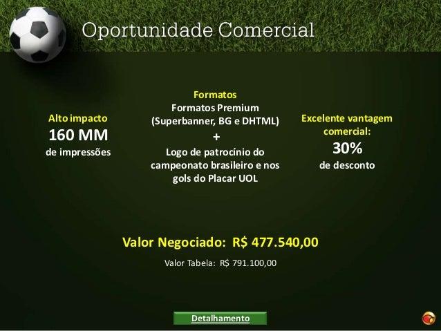 UOL EsporteUOL Esportes é um dos maiores canais do portal,com notícias, fotos, resultados, entrevistas, vídeos eos bastido...