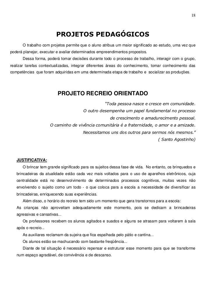 Suficiente Projeto Político Pedagógico da Escola Municipal Joaquim Teixeira Cama… YR53