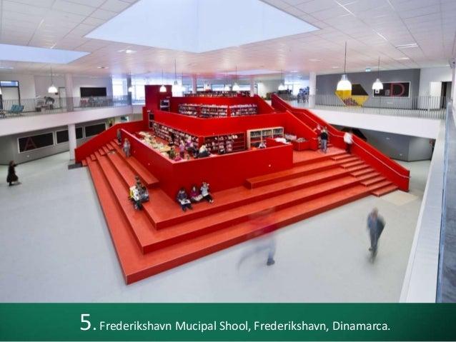 5. Frederikshavn Mucipal Shool, Frederikshavn, Dinamarca.