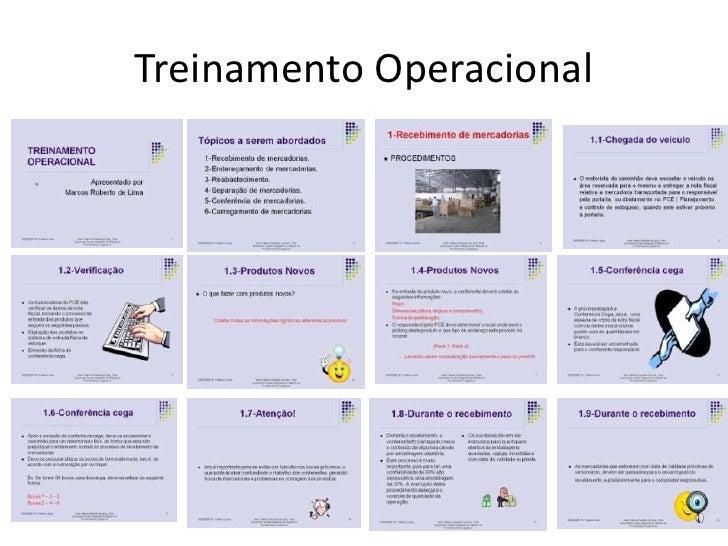 Treinamento Operacional<br />