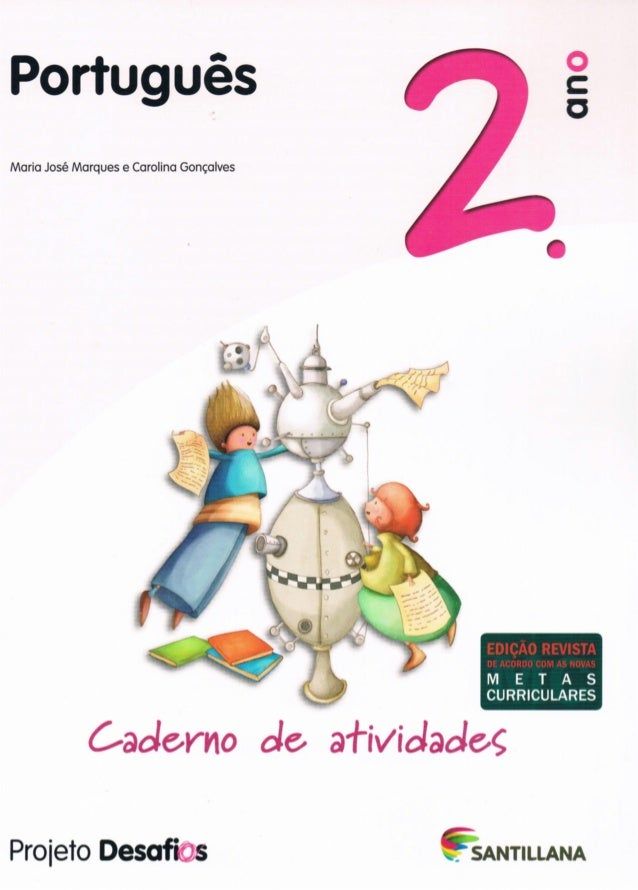 Projetos desafios   português - 2º ano - caderno atividades