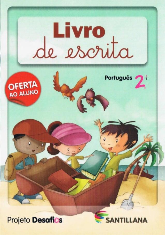 Projetos desafios   português - 2º ano - livro escrita