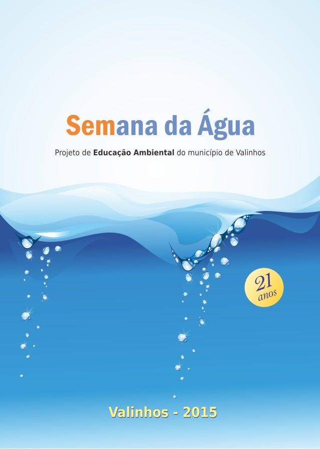 Projeto Semana da Água 2015