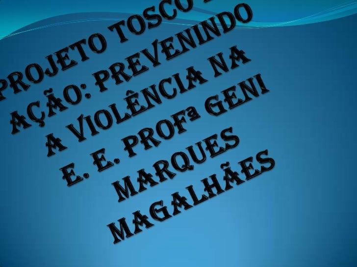 Entrega dos livros do Toscoaos alunos da E. E. Profª GeniMarques Magalhães em Ponta Porã.