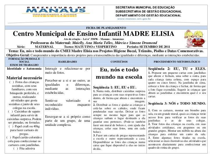 SECRETARIA MUNICIPAL DE EDUCAÇÃO                                                                               SUBSECRETAR...