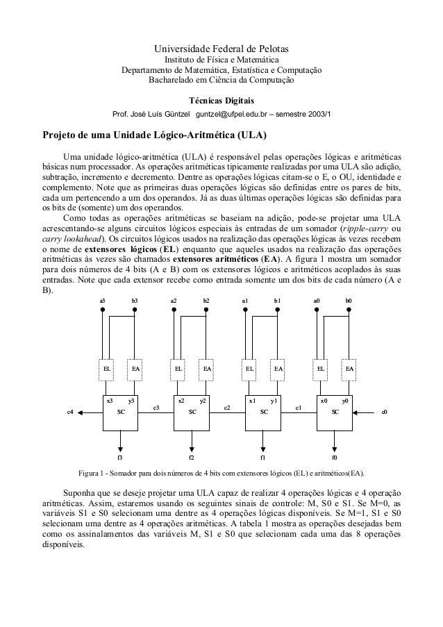 Universidade Federal de Pelotas Instituto de Física e Matemática Departamento de Matemática, Estatística e Computação Bach...