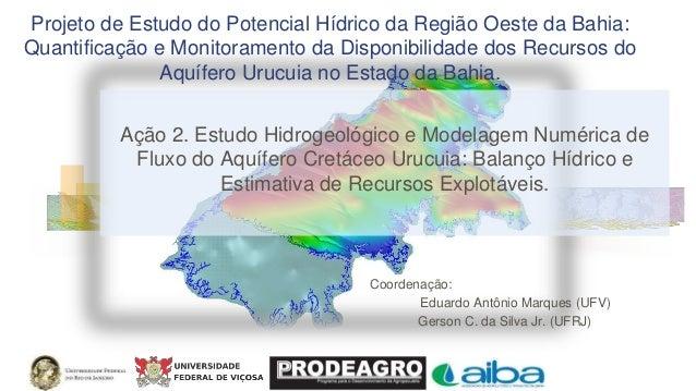 Projeto de Estudo do Potencial Hídrico da Região Oeste da Bahia: Quantificação e Monitoramento da Disponibilidade dos Recu...