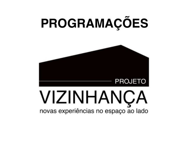 PROGRAMAÇÕES