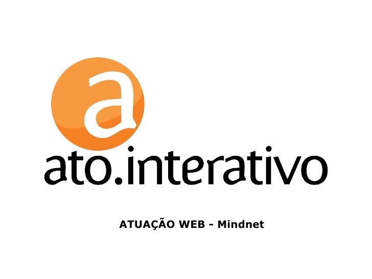 ATUAÇÃO WEB - Mindnet