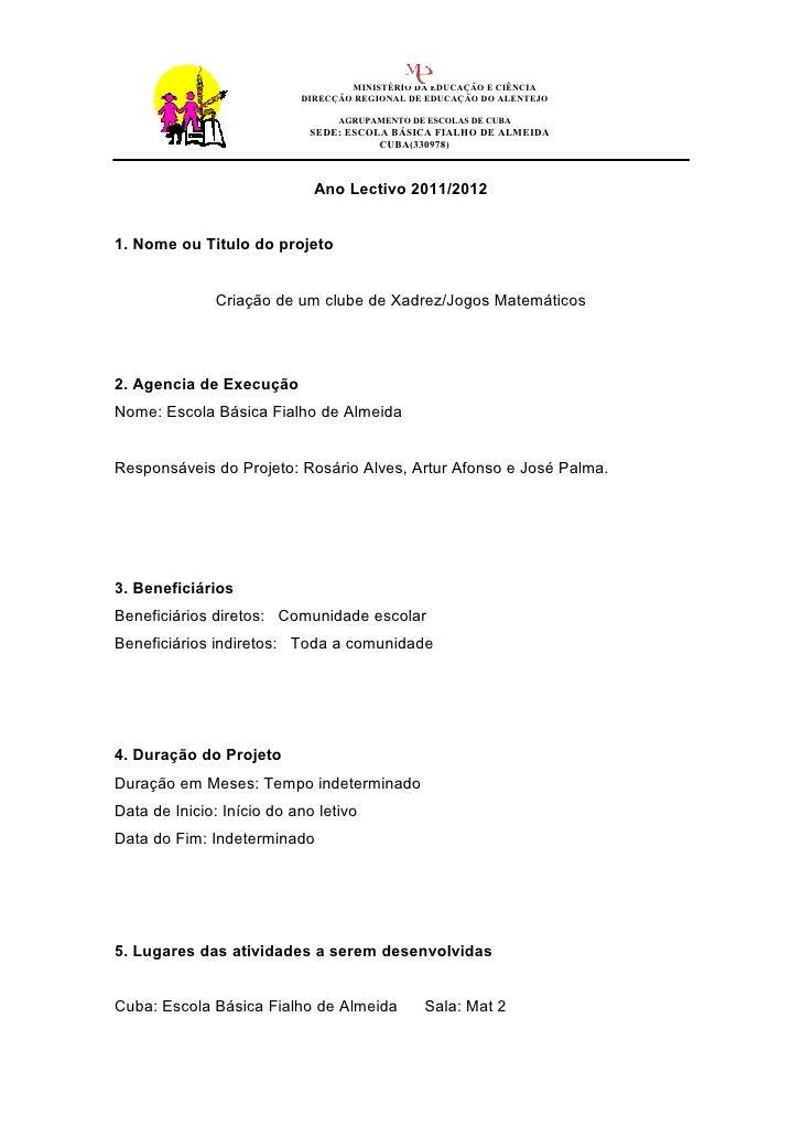 MINISTÉRIO DA EDUCAÇÃO E CIÊNCIA                           DIRECÇÃO REGIONAL DE EDUCAÇÃO DO ALENTEJO                      ...