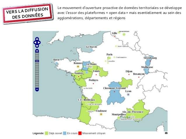 Le mouvement douverture proactive de données territoriales se développe           FUSIONVERS LA DIF         avec lessor de...