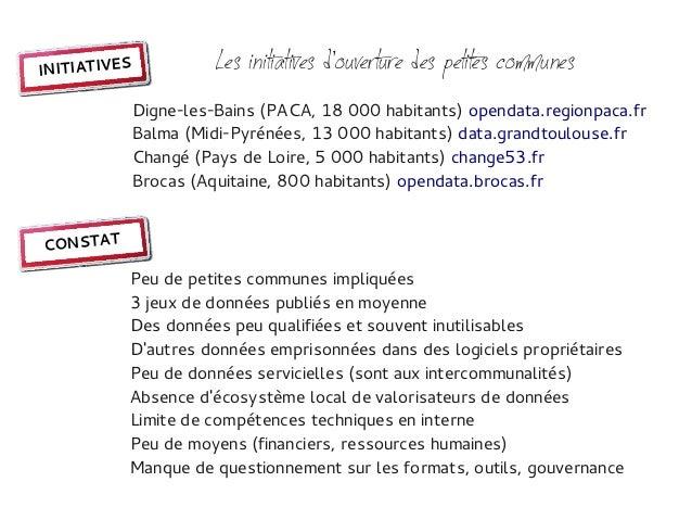 INITIATIVES             Les initiatives douverture des petites communes              Digne-les-Bains (PACA, 18 000 habitan...