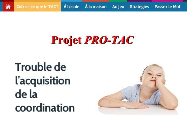 Projet PRO-TAC