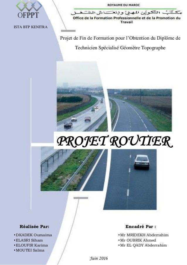 Projet Routier