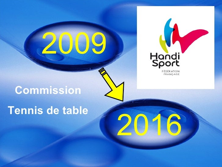 2009 2016 Commission Tennis de table