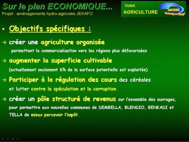 Sécurité alimentaire et réconciliation au Mali Slide 3