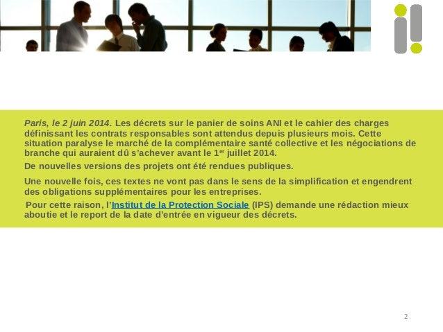 Projets décret santé cp ips 02 06 14 Slide 2