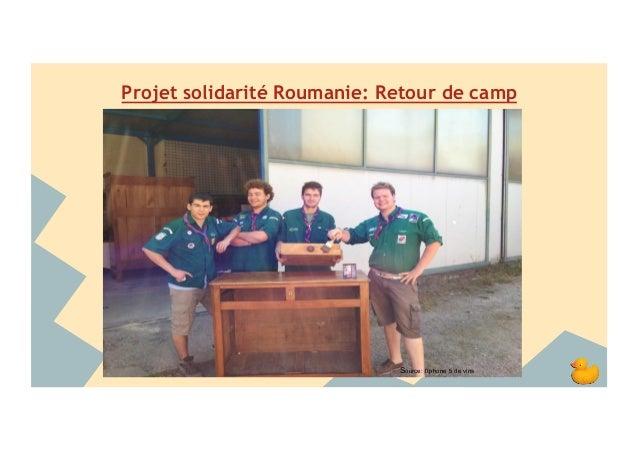 Projet solidarité Roumanie: Retour de camp  Source: l'Iphone 5 de vins