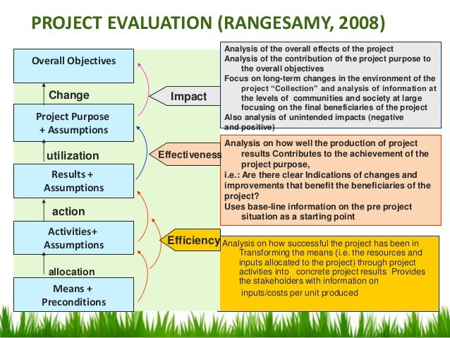 Project Evaluation Recycling and Closing – Project Evaluation