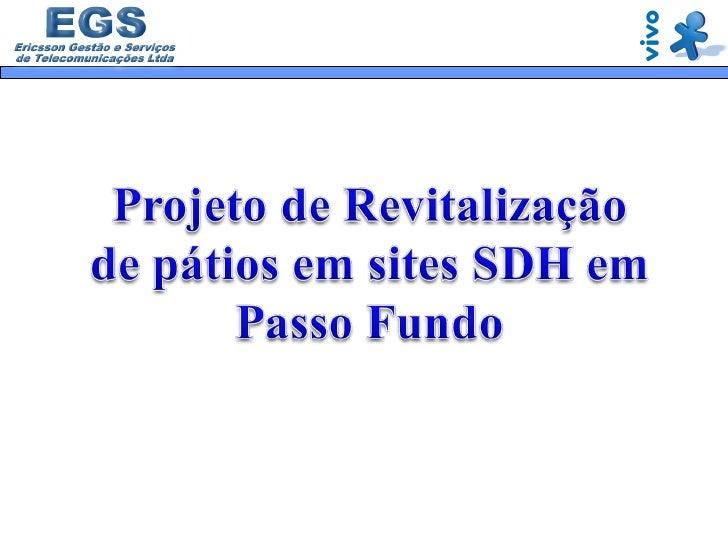 Proj RevitalizaçãO Sdh Slide 1
