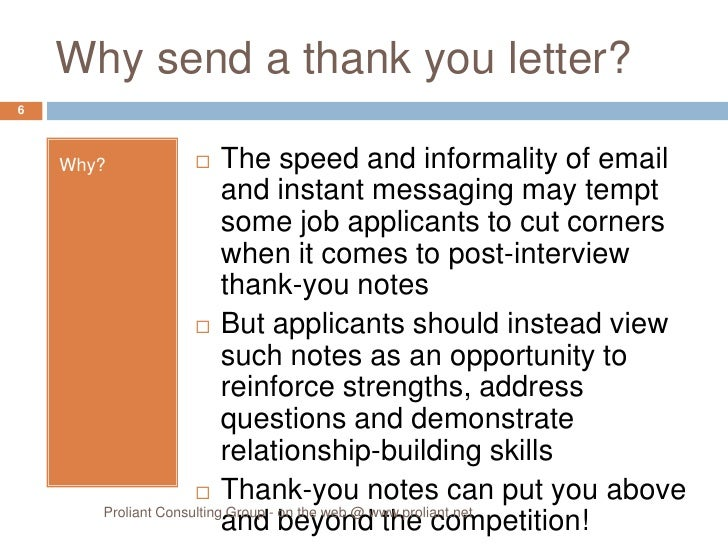 Sales Follow Up Letter. Thank You Letter After Interview Template