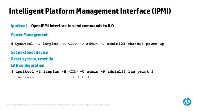 Presentation on HP ProLiant value add tools on Linux