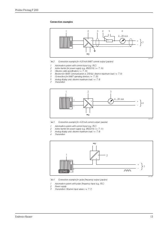 proline promag p200electromagnetic flowmeter 13 638?cb=1367014424 proline promag p200 electromagnetic flowmeter proline t12 ballast wiring diagram at love-stories.co