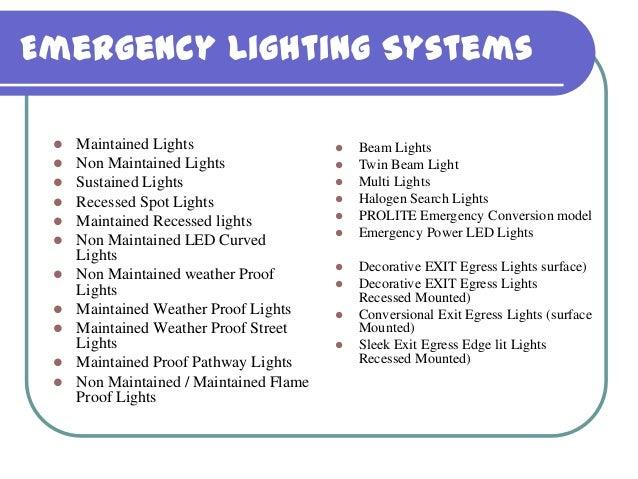 Emergency Lighting Systems ? Maintained ...  sc 1 st  SlideShare & Prolite Autoglo LTD. - Emergency Lighting System