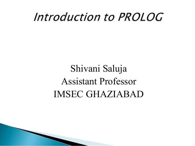 Prolog basics