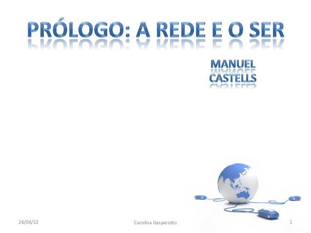 26/06/13 Carolina Gasparotto 1