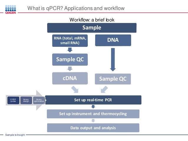 Introduction to Real Time PCR (Q-PCR/qPCR/qrt-PCR): qPCR