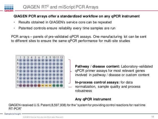 New Biomarker Panel Could Accelerate >> Accelerate Your Discovery With Qiagen Service Solutions For