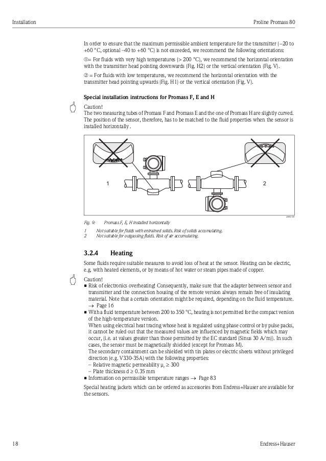 Endress Hauser Promag 53h Manual
