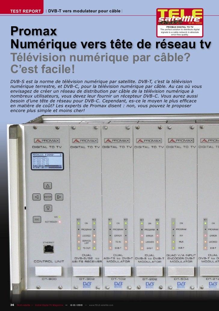 TEST REPORT                   DVB-T vers modulateur pour câble                                                            ...