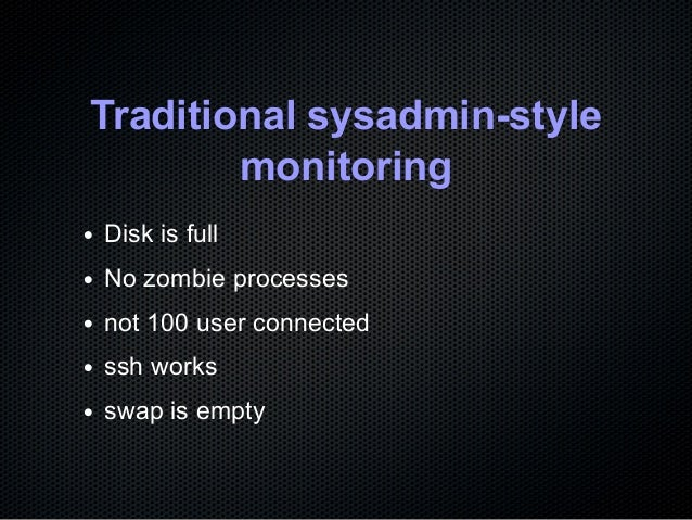 Monitor your CentOS stack with Prometheus Slide 3