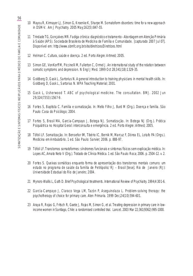 Promef sintomas(final antes da)