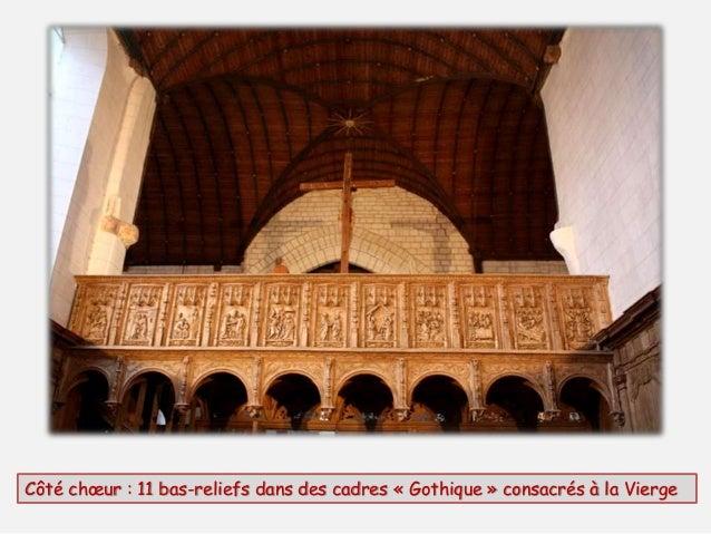 Côté chœur (détail) , la Nativité et l'Adoration des mages