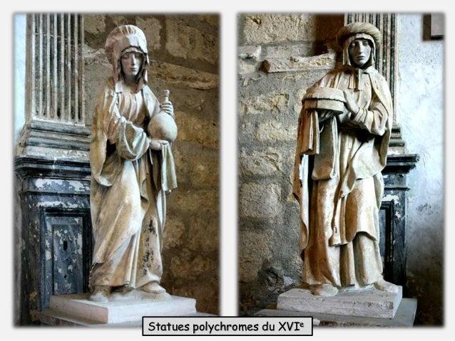 Statues polychromes du XVIe