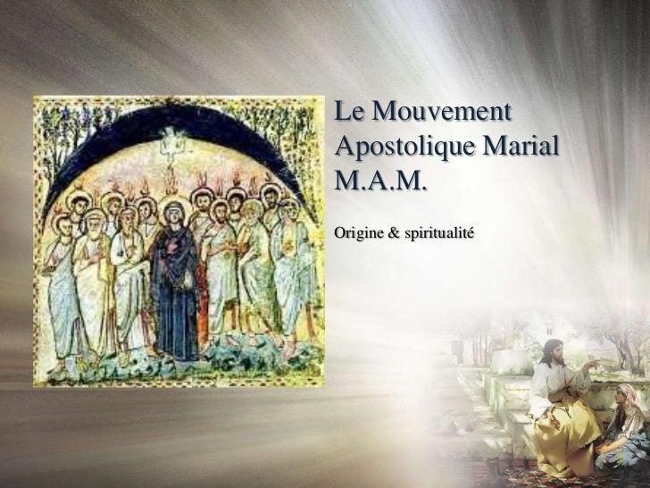 Promesse des nouveaux membres du Mouvement Apostolique Marial - Novembre 2011 Slide 2