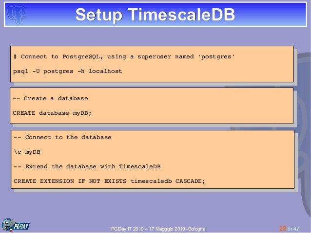 How to use Postgresql in order to handle Prometheus metrics